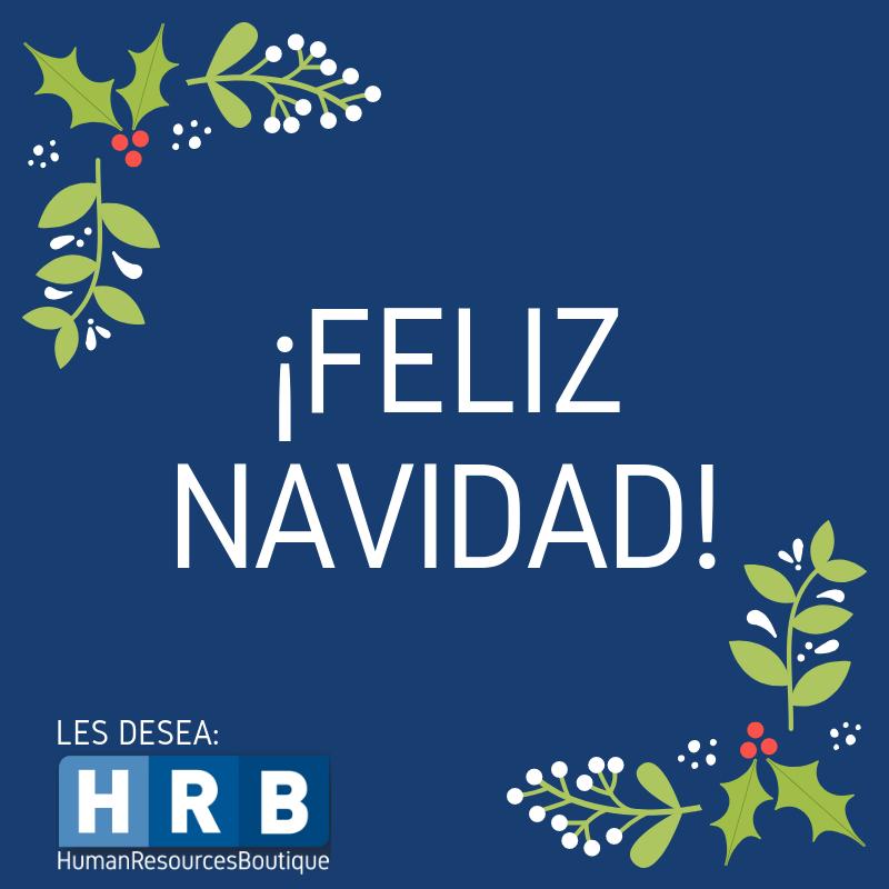 ¡HRB les desea una Feliz Navidad!