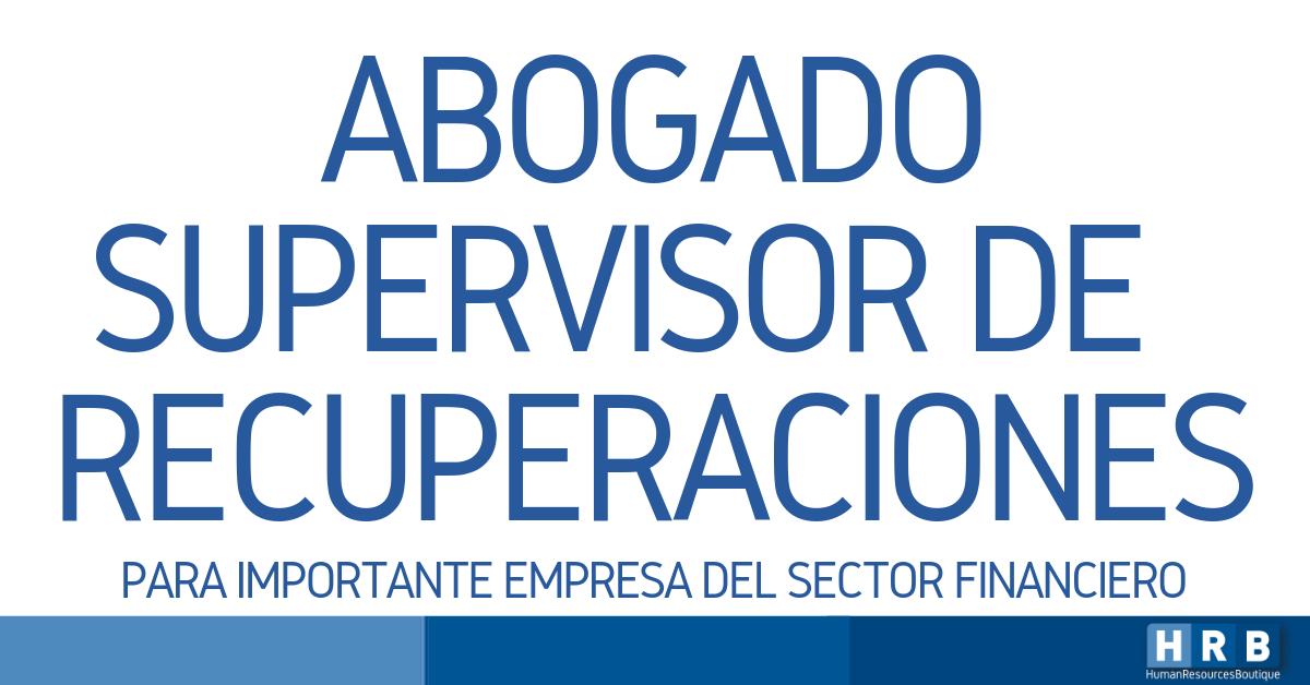 ABOGADO SUPERVISOR DE ACTIVOS ESPECIALES
