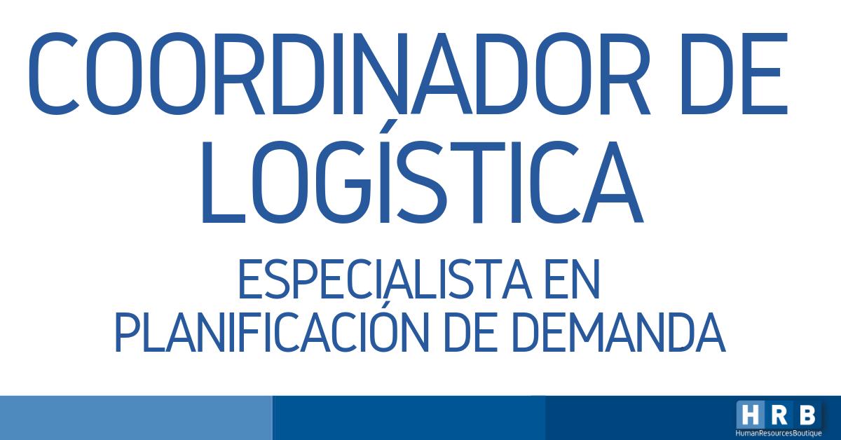 COORDINADOR DE LOGÍSTICA