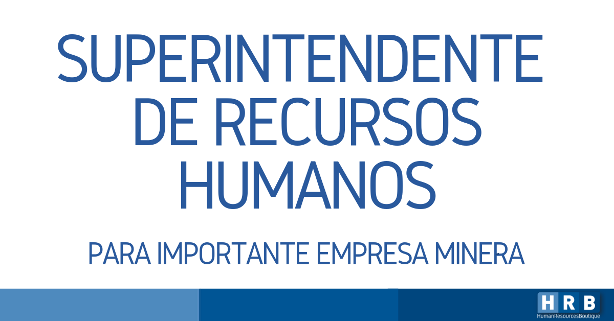SUPERINTENDENTE DE RECURSOS HUMANOS