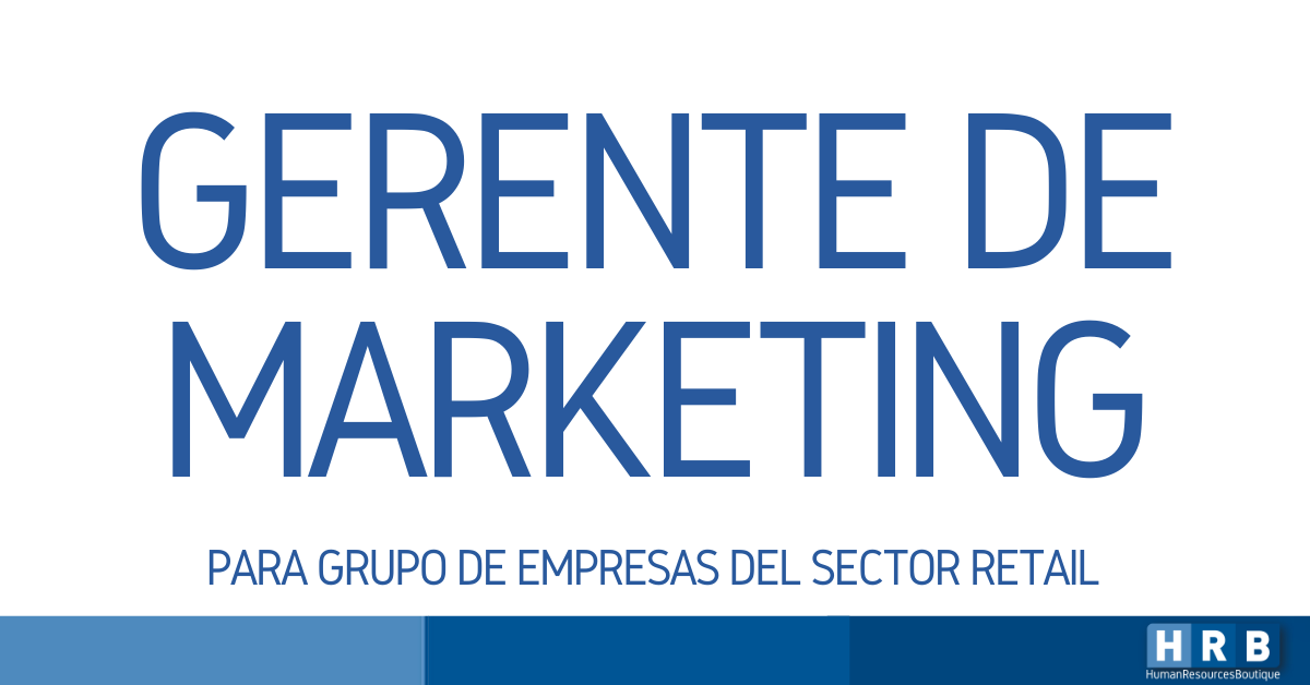 GERENTE DE MARKETING